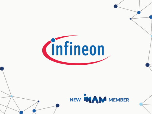 INAM Welcomes Infineon Technologies AG as Newest Industry Member