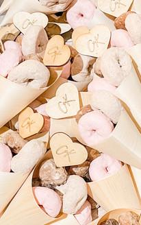 Custom Donut Skewer Wedding Cones