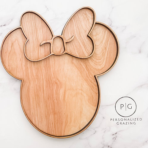 Minnie Mouse Party Charcuterie Board