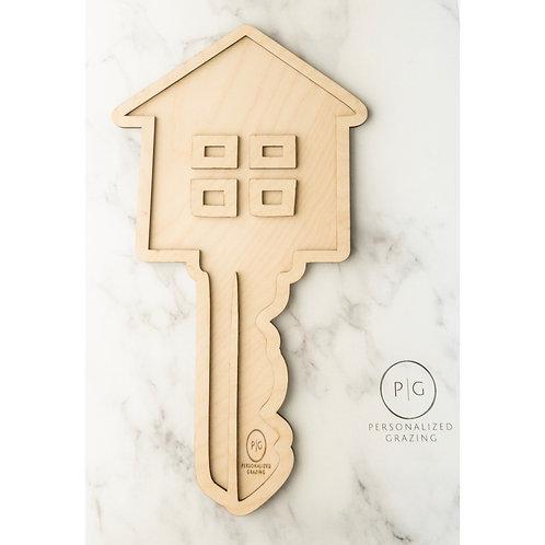 House Key Combo Charcuterie Board