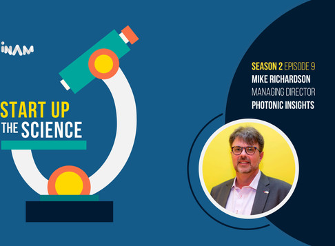 Networking Expert Mike Richardson on Start Up the Science Podcast