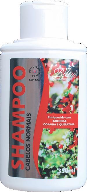 Shampoo Para Cabelos Normais de Aroeira, Copaíba e Queratina