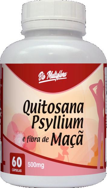 Quitosana Psyllium e Fibra de Maçã
