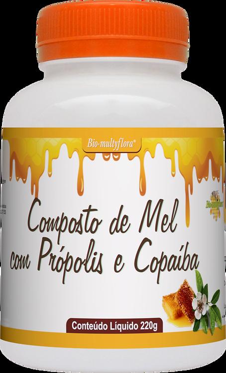 Mel com Própolis e Copaíba