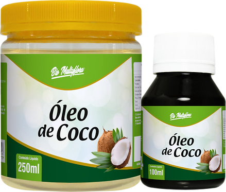 Óleo de Coco 250/500/100 ml