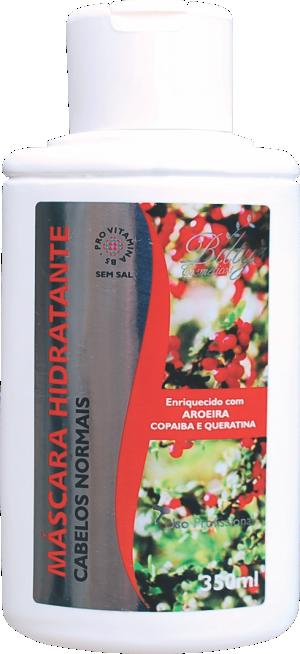 Máscara Hidratante Para Cabelos Normais de Aroeira, Copaíba e Queratina