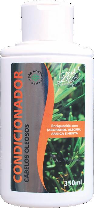 Condicionador Para Cabelos Oleosos de Jaborandi, Alecrim. Arnica e Menta