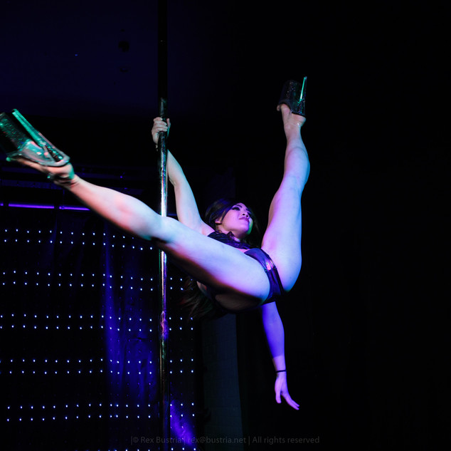 Ayesha at Pole Inferno 2017