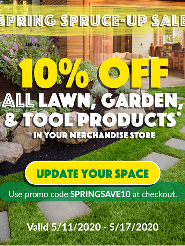 Home Improvement Promo Email