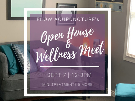 OPEN HOUSE & WELLNESS MEET!