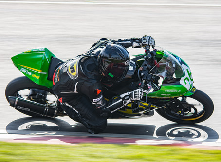 Hopkins gets a win and a second as he warms up for World Supersport 300 season