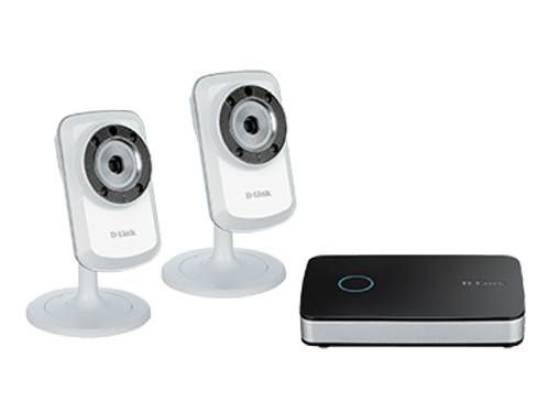 mydlink™ Video Recorder and 2 Camera Starter Kit