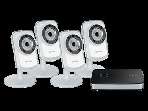 mydlink™ Video Recorder and 4 Camera Starter Kit