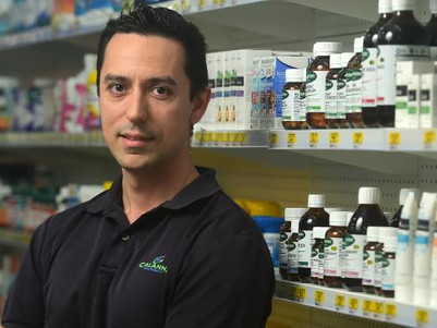 Townsville chemist gains approval to dispense first medicinal cannabis product