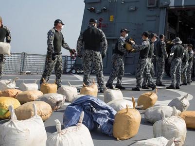 Australian Navy seize 3.1 tonnes of hashish