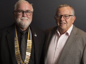 Human rights and medical cannabis campaigner, Barry Lambert talks to the Rotary Club of Taree
