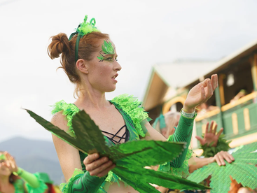 Thousands of sober cannabis consumers march for drug law reform in Nimbin