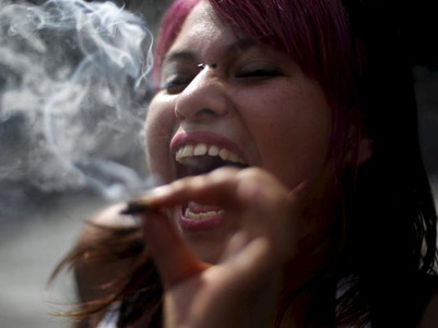 Children's exposure to marijuana while in the womb improves visual ability