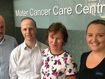 Advanced cancer patients to volunteer for new medicinal cannabis oil trial at Brisbane's Mater Resea