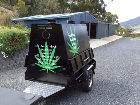 Crowdfunded medicinal cannabis education campaign mobilises in Tasmania