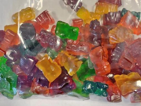 Three charged after cannabis-infused gummy bears found in Tasmanian mail