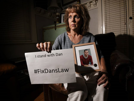Lucy Haslam repulsed by medicinal cannabis laws, calls on nation to #FixDansLaw