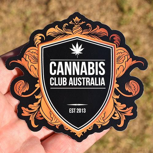 CCA (Black Shield) Vinyl Sticker