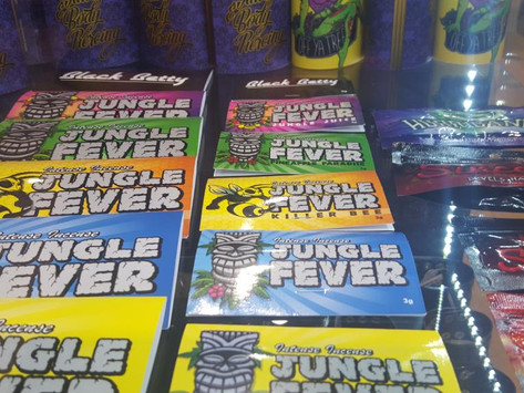 WARNING: Synthetic cannabis labelled 'intense incense' being sold at Off Ya Tree in Northland Shoppi
