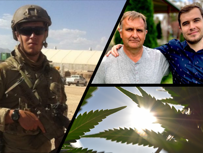 Army veteran calls for access to legal cannabis to help treat post-traumatic stress disorder