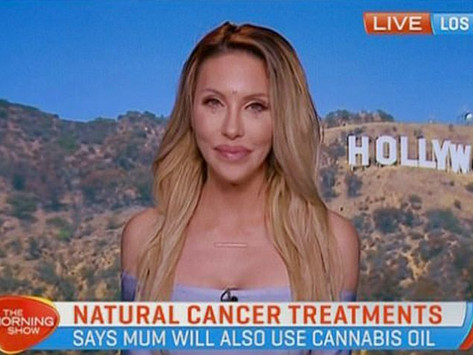 Olivia Newton-John's cancer battle is going well... Thanks to cannabis oil!