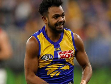 West Coast Eagles star Willie Rioli allegedly caught with cannabis