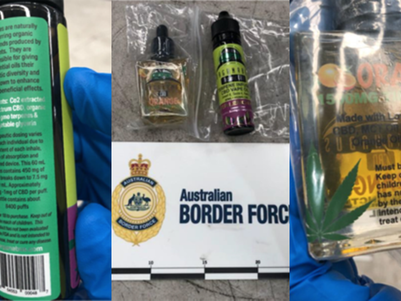 Increase in seizures prompts warning to potential importers of products containing cannabis