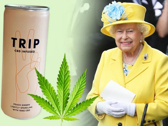 ROYAL FARMS: Cannabis infused drink flies off the shelves at the Queen's farm shop