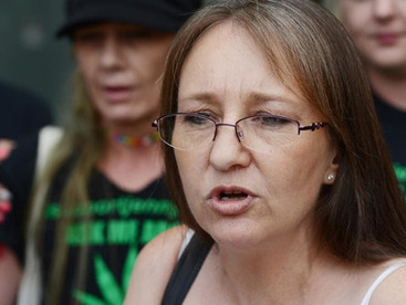 Jenny Hallam, who gave cannabis oil to sick people, tells supporters she had pleaded guilty to drug