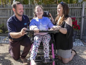Katrina Spraggon backs One Nation over support of cannabis oil for daughter Kaitlyn