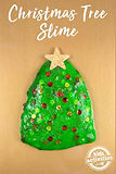 SLIME: Christmas is just around the corner! This is our last chance to make the last few tree ornaments. Of course we end the year with glittery, shimmery, gooey green and red SLIME!