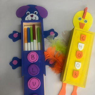 Fancy Pencil Boxes