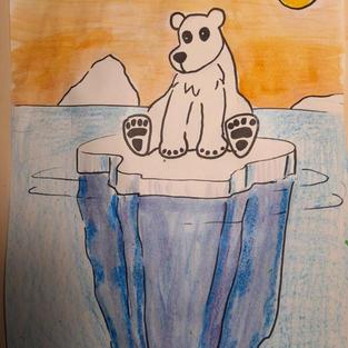 Polar Bear and His Iceberg