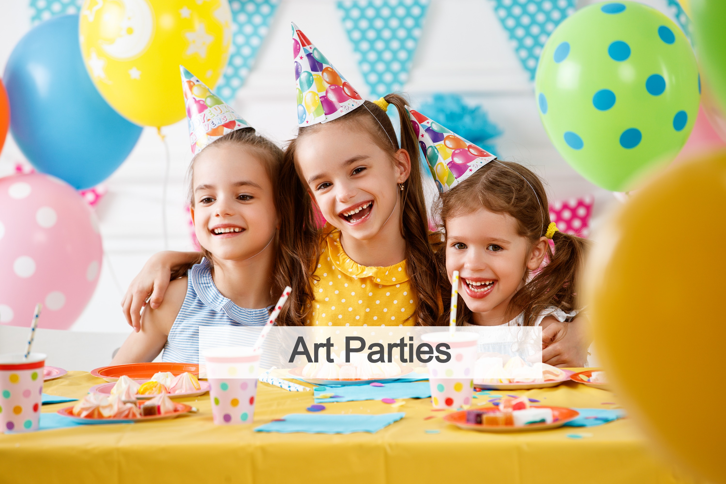 Art Party Ideas For Toddlers
