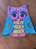 Wooden Owls (Mosaic)