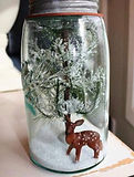 CRAFTY SESSION: If you want to make your own christmas world in a Jar ! This is the workshop for you ! Think snowflakes and snow frosted trees.