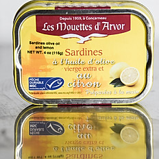 Sardines in Olive Oil and Lemon