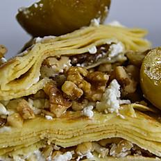 Goat Cheese / Walnuts / Figs / Honey Crêpe