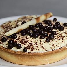 Mascarpone Cream / Vanilla / Chocolate Tart