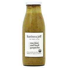 Zucchini and Basil Gazpacho (Organic - 2 Persons)