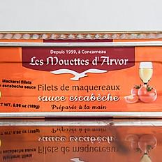 Mackerel Fillets in Escabeche Sauce