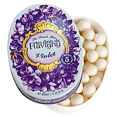 Violet Flower Hard Candies