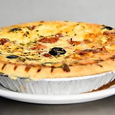 3 Cheeses (Swiss/Mozzarella/Goat) / Tomato / Olive / Oregano