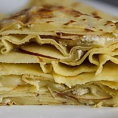Brie / Apples / Apple Sauce Crêpe