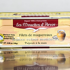 Mackerel Fillets in Mustard Sauce